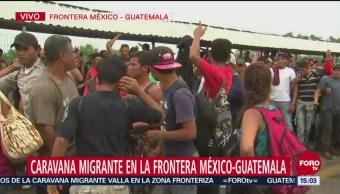 Hondureños Discuten Entre Ellos Intentar Entrar A México
