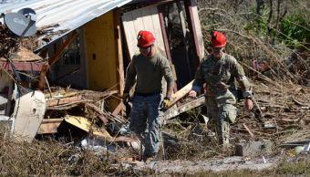 Sube a 19 cifra de muertos por huracán 'Michael' en EU