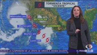 Huracán 'Willa' provocará lluvias en el sur de Sinaloa