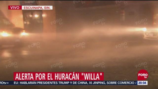 Huracán Willa Toca Tierra Escuinapa Sinaloa