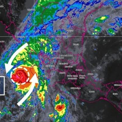 Prevén tormentas intensas por huracán 'Willa' y tormenta 'Vicente'