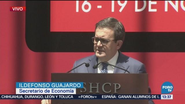 Ildefonso Guajardo da conferencia sobre el Buen Fin 2018