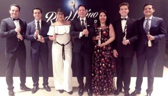 Gana Sergio José Gutiérrez en los Premios Reed 2018
