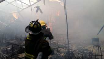 incendio discoteca iguala guerrero bomberos emergencia