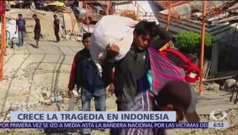 Indonesia Hay más de mil 400 muertos por sismos