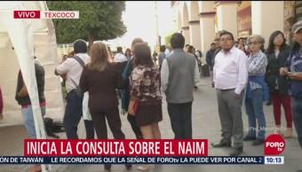 Inicia en Texcoco consulta sobre nuevo aeropuerto
