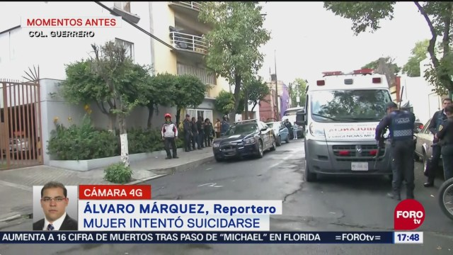 Intento de suicidio moviliza cuerpos de emergencia en la colonia Guerrero
