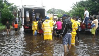 Luvias en Guatemala dejan un muerto y severas afectaciones