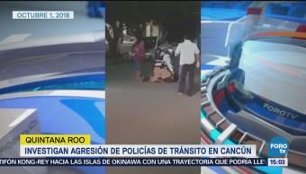 Investigan a policías por uso excesivo de fuerza en Cancún