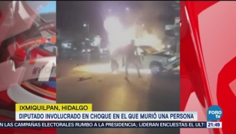 Involucran Diputado Morena Choque Donde Murió Una Persona