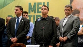 Jair Bolsonaro se declara admirador de Trump