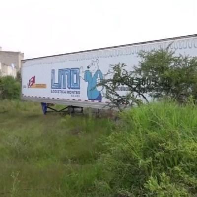 Avanza investigación por cadáveres en tráileres en Jalisco