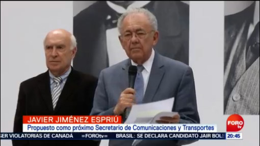 Jiménez Espriú Insiste Viabilidad Santa Lucía Aeropuerto