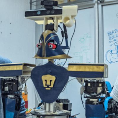Robot mexicano 'Justina' gana concurso IROS 2018 en Madrid