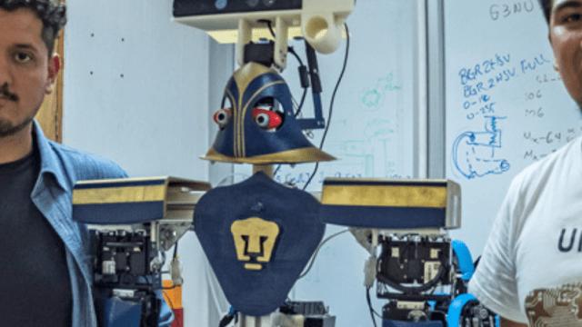 Robot mexicano 'Justina' gana concurso en España