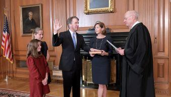 Kavanaugh jura como nuevo juez del Tribunal Supremo de Estados Unidos