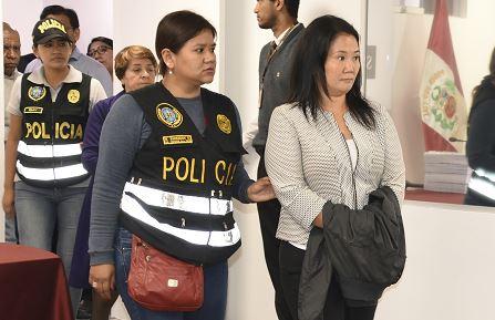 71 % de los peruanos califica como justa su detención — Keiko Fujimori