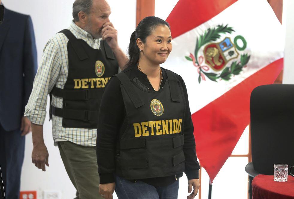 Keiko Fujimori: hoy evalúan prisión preventiva en su contra