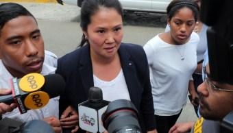 Hija de Fujimori acusa persecución en contra de su padre