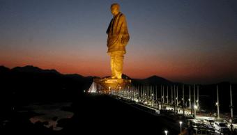 India inaugura la estatua más alta del mundo