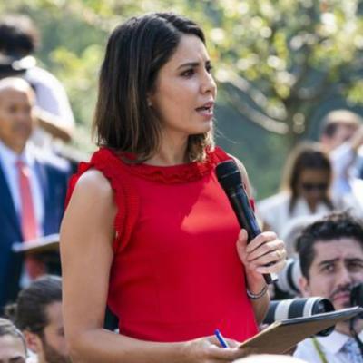 Trump insulta a una periodista; 'sé que no estás pensando', le dice