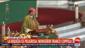 Riqueza Peligrosa Monseñor Franco Coppola