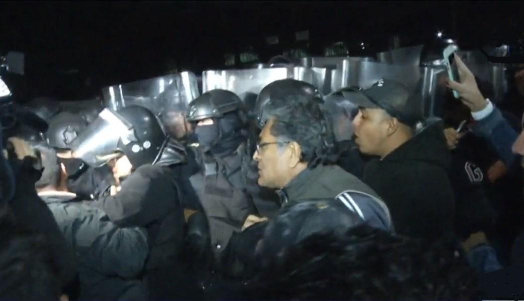 La Villa escenario de enfrentamientos policías y comerciantes