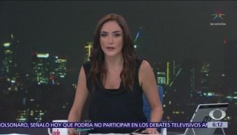 Las noticias, con Danielle Dithurbide: Programa del 12 de octubre del 2018