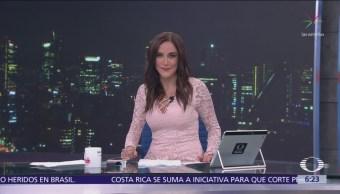 Las noticias, con Danielle Dithurbide Programa del 17 de octubre del 2018