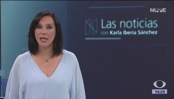 Las Noticias, con Karla Iberia: Programa del 12 de octubre de 2018