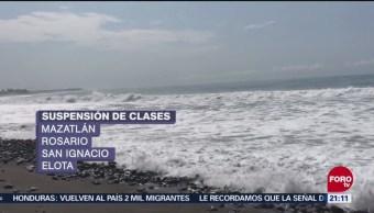 "Suspenden Clases Huracán ""Willa"" Sinaloa"