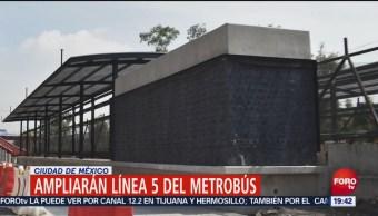 Ampliarán, Línea 5 Del Metrobús, Ciudad De México, Gobierno capitalino, Glorieta de Vaqueritos,