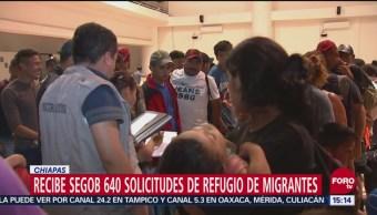 Recibe Segob 640 Solicitudes Refugio De Migrantes