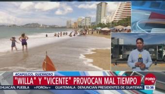 Willa Vicente Provocan Mal Tiempo Guerrero