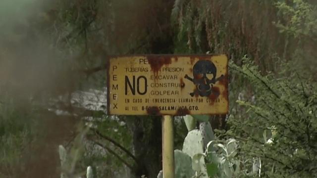 Robo de combustible mata a niño inocente y contamina agua en Edomex
