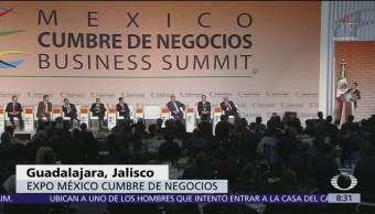 Líderes de opinión se reúnen en Expo México Cumbre de Negocios