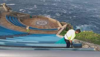 Playas de Acapulco; realizan jornada de limpieza