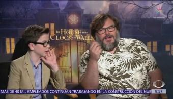 Llega a México la cinta 'La casa con un reloj en sus paredes'