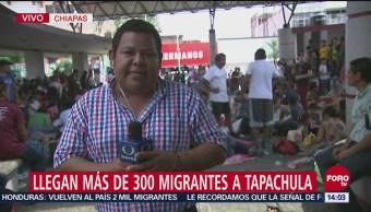 Llegan Primeros Hondureños Tapachula, Chiapas Ciudad Hidalgo