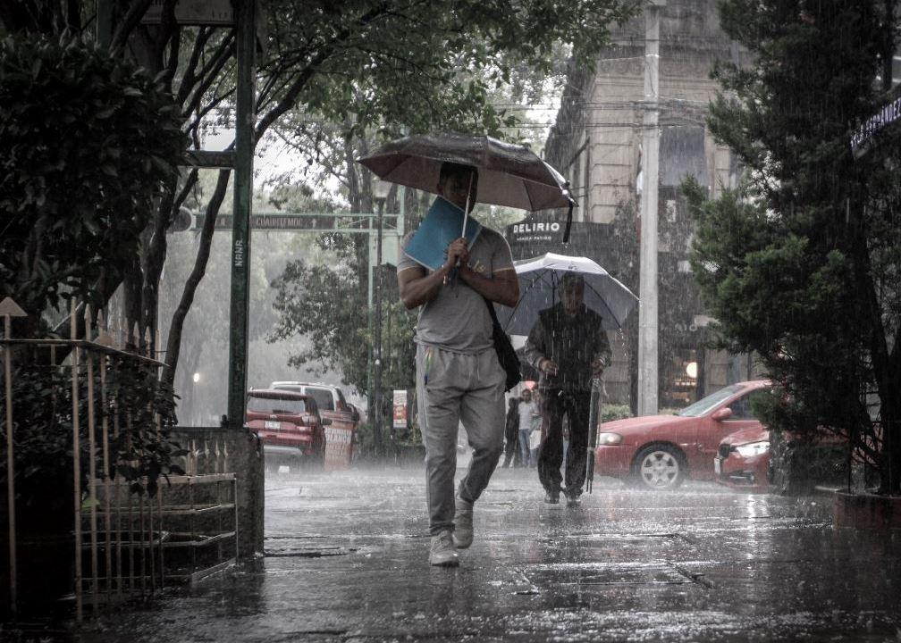Lluvias en CDMX hoy 16 de octubre de 2018