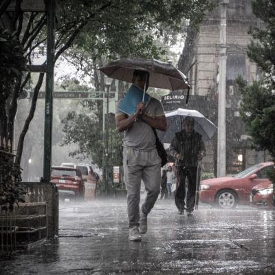 Activan Alerta Amarilla por lluvia en seis alcaldías de CDMX