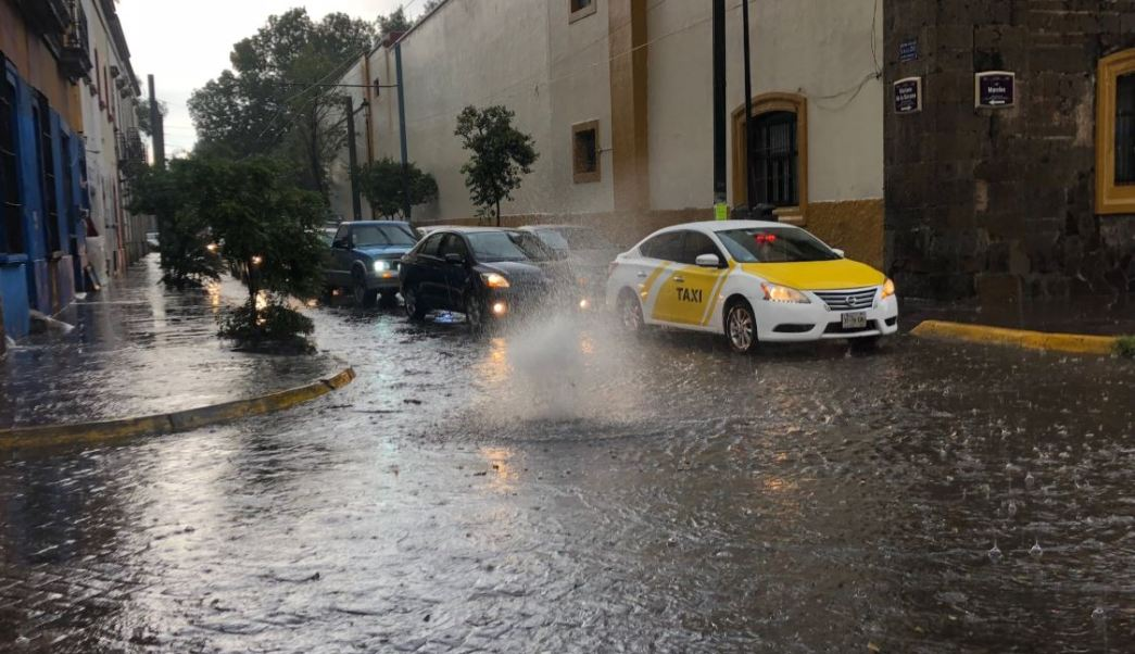 lluvias inundan guadalajara jalisco por segundo dia consecutivo