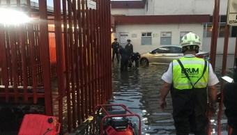 Hospital General de Ticomán suspende servicio por inundación