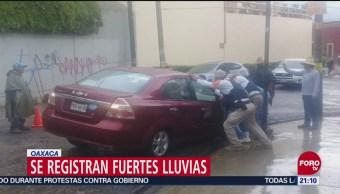 Lluvias Provocan Inundaciones Puebla Oaxaca Encharcamientos