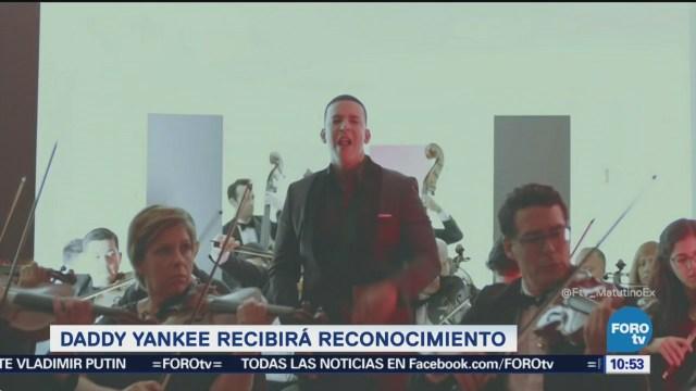 #LoEspectaculardeME: Daddy Yankee será reconocido como ícono musical