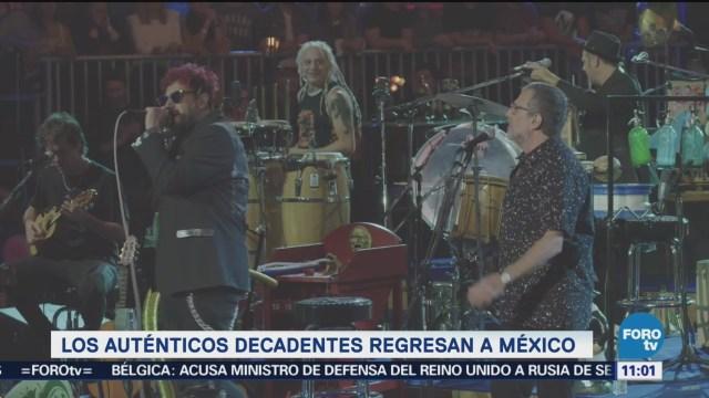 #LoEspectaculardeME: Los Auténticos Decadentes regresan a México
