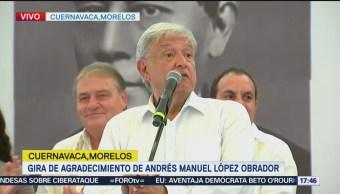 López Obrador promete terminar con la corrupción
