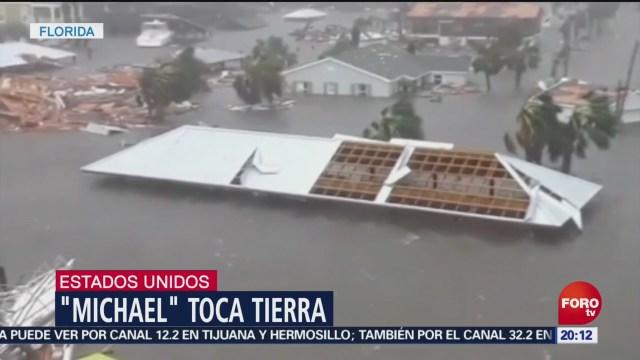 Efectos Huracán Michael Categoría Florida EU