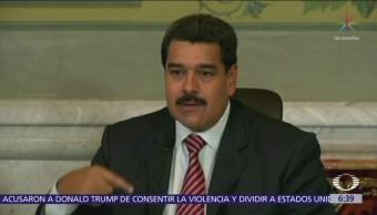 "Maduro califica a Mike Pence de ""loco extremista"""