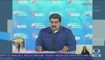 Maduro niega crisis económica, política migratoria Venezuela